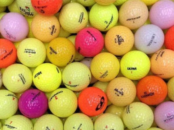 Gekleurde golfballen kopen
