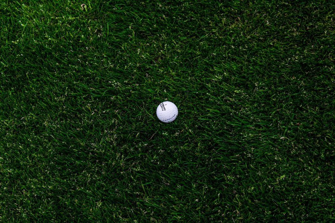 Golfbal markeren